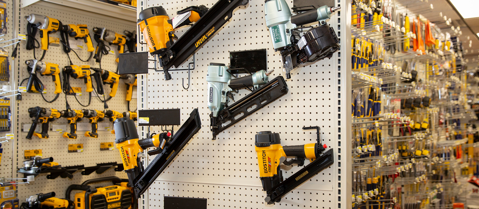 Tools and Fasteners at Speonk Lumber