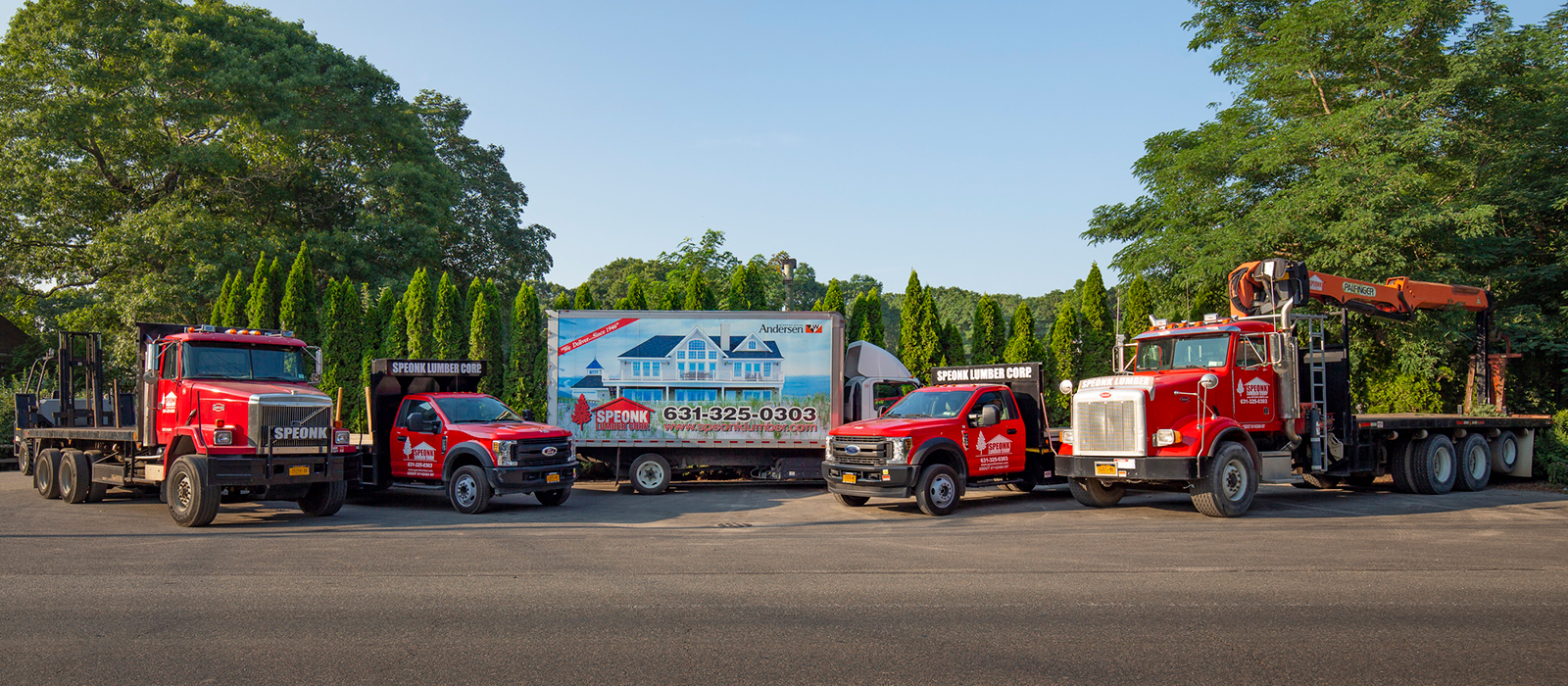 Speonk trucks
